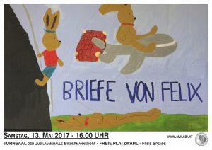 Plakat Briefe von Felix