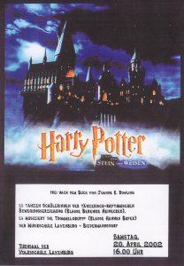 Plakat Harry Potter Laxenburg - Bild von Hogwarts