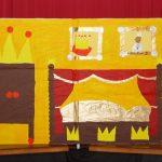 Kulissenmalen Koenig Hupf 2008 - Bild 5 - Das königliche Schalfzimmer
