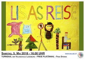 Plakat Lisas Reise
