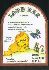 Plakat Lord Rex