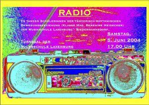 Plakat Radio Laxenburg
