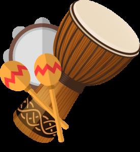 Logo Trommelgruppe für Kinder